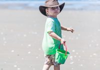 Elijah at beach